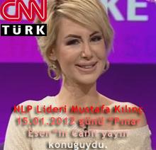 """NLP Lideri Mustafa Kılınç 05.10.2012 günü """"Pınar Esen""""in 2. Kez Canlı yayın konuğuydu."""